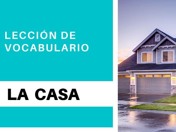 Places in a  house in Spanish -  with 10 Interactive exercises