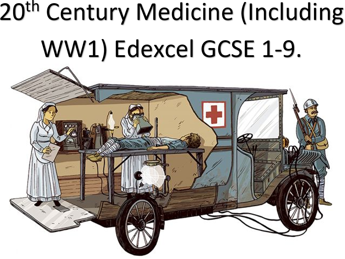 20th Century Medicine (Including WW1) Edexcel GCSE 1-9.