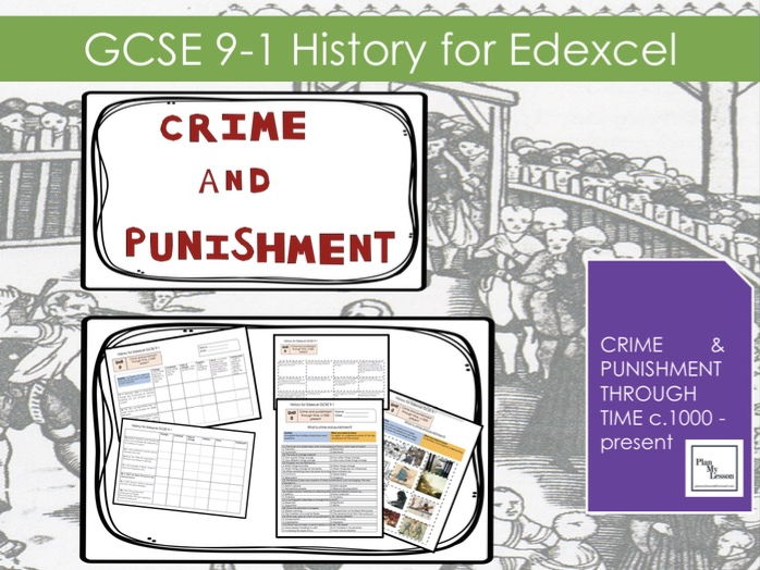 LO: Introduction lesson to Crime and Punishment (Edexcel 9-1 History GCSE)