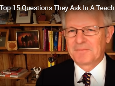 Top 15 Questions They Ask in a Teaching Interview