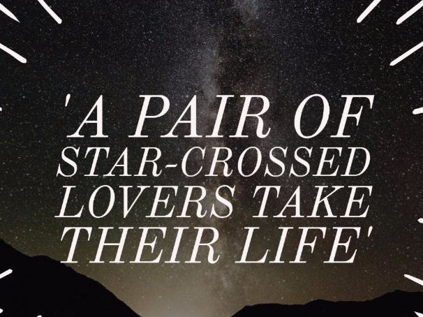 star crossed lovers essay Read shakespeare's star crossed lovers free essay and over 88,000 other research documents shakespeare's star crossed lovers in shakespeare's play romeo and.