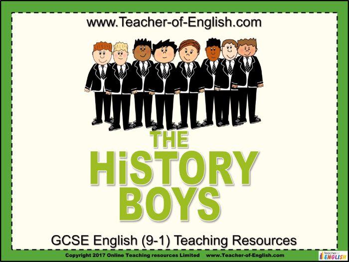 The History Boys (Alan Bennett)