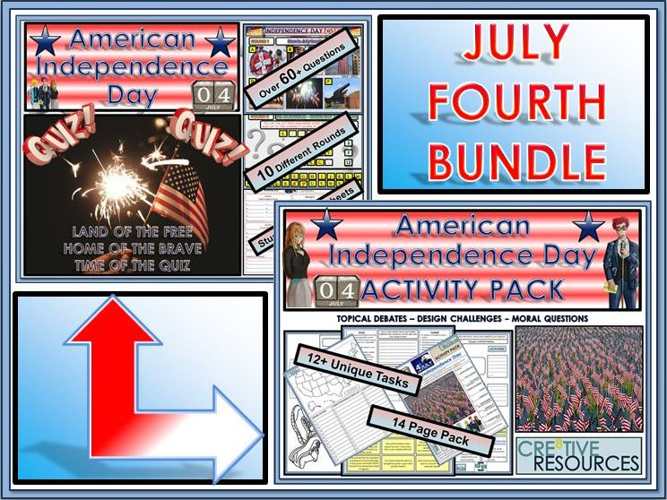 American Independence Day Fourth of July BUNDLE!