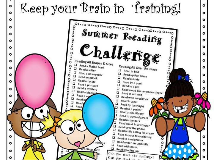 Summer Reading Challenge Freebie
