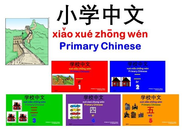 Primary Mandarin: Numbers: 1-5