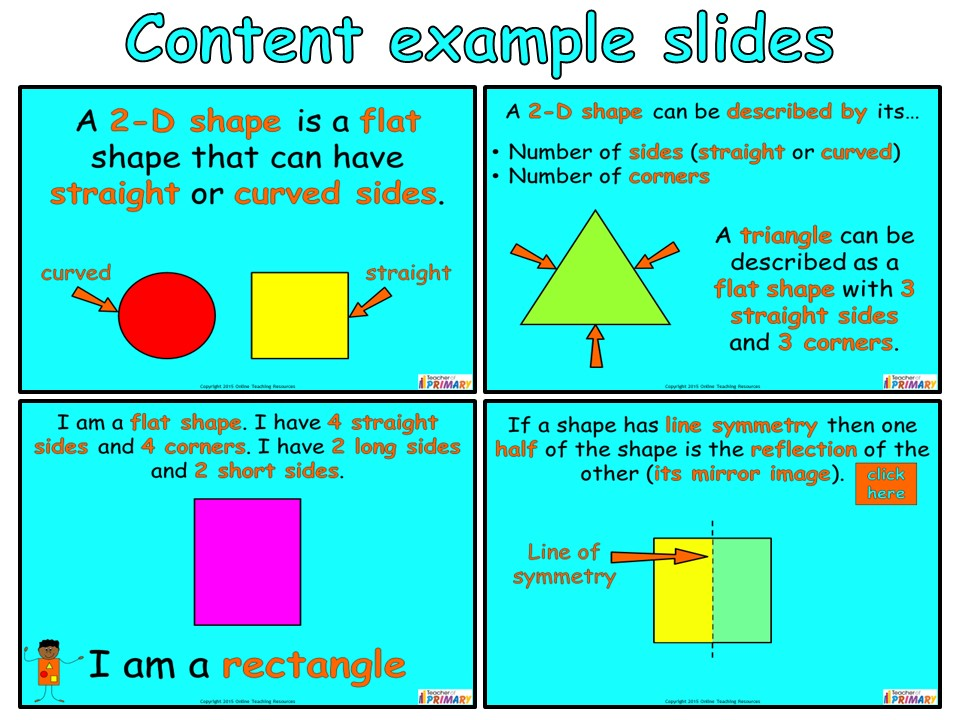2-D Shapes (Geometry – Year 2) by Online_Teaching_Resources ...