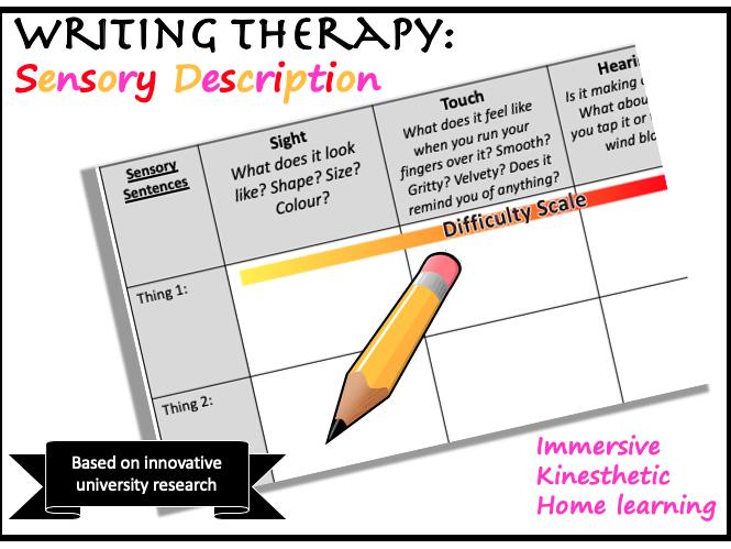 Home Writing Therapy: Sensory Description