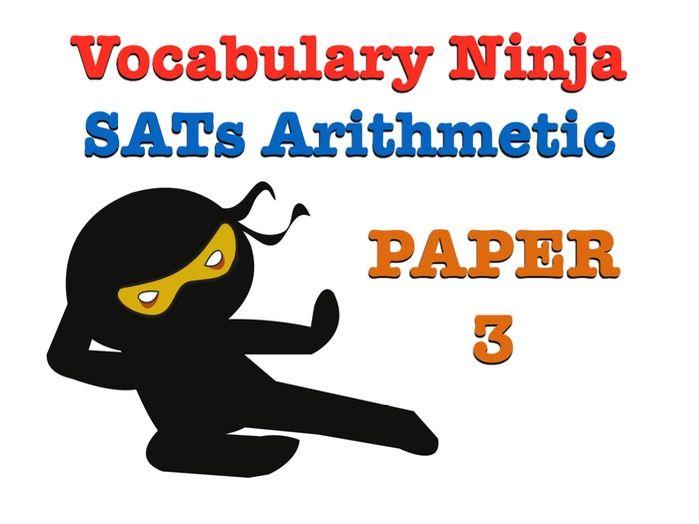 KS2 SATs Arithmetic Paper 3