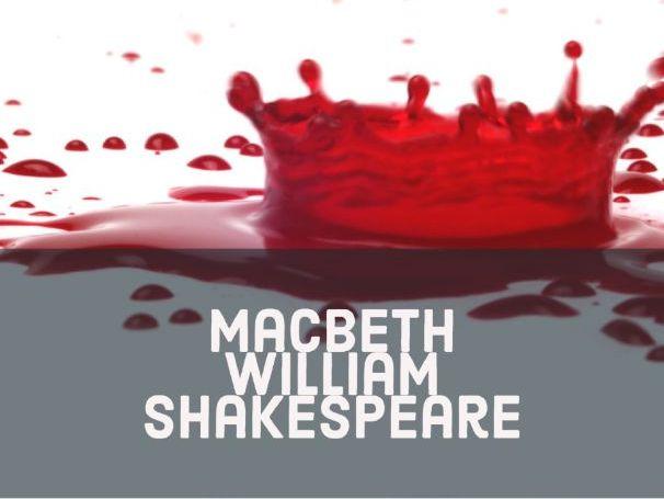 Macbeth AQA: Revision pack
