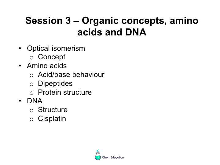 AQA A level chemistry (New Spec 2016) Amino acids, proteins and DNA revision powerpoint presentation