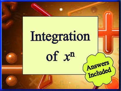 Basic Integration of powers of x - over 70 questions with answers