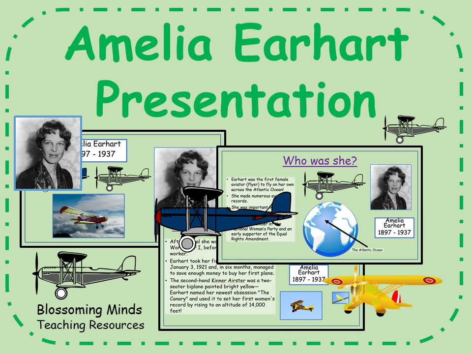Amelia Earhart Presentation
