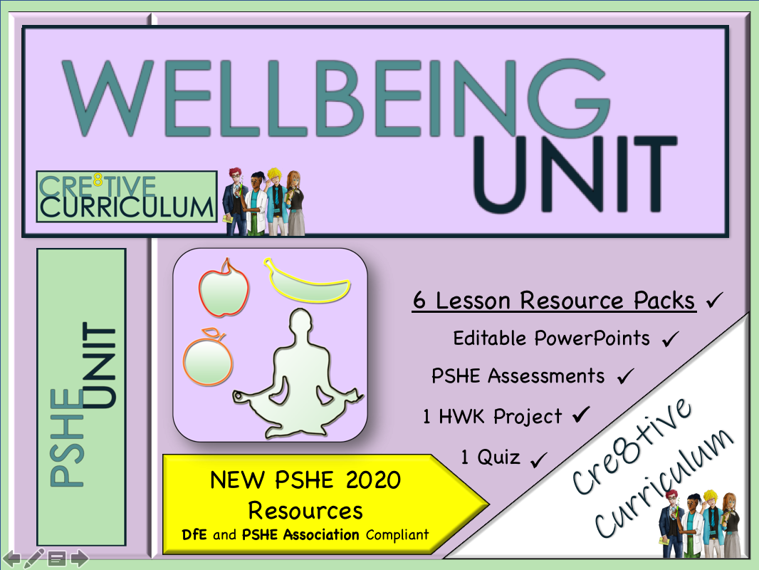 Wellbeing PSHE Unit