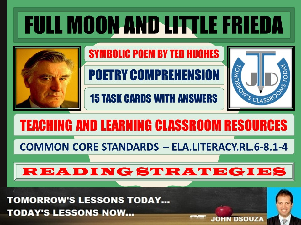 FULL MOON AND LITTLE FRIEDA - 15 WORKSHEETS WITH ANSWERS