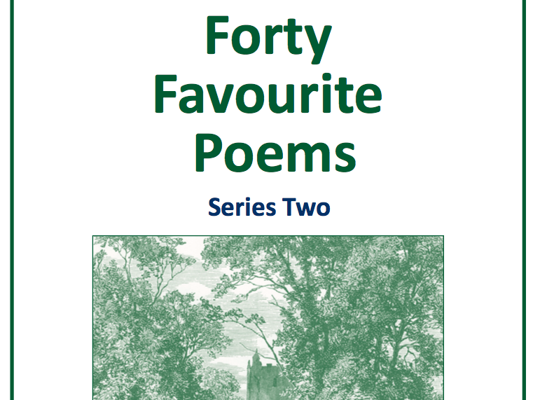 KS4 Forty Favourite Poems Series Two Scheme of Work