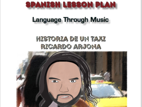 Spanish Lesson Plan - Language through Music - Song: Historia de un Taxi by Ricardo Arjona