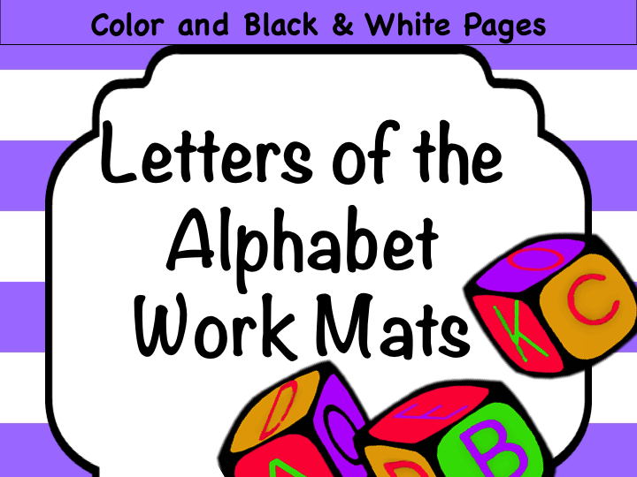 RTI/Fundations: Letters of Alphabet Task Cards