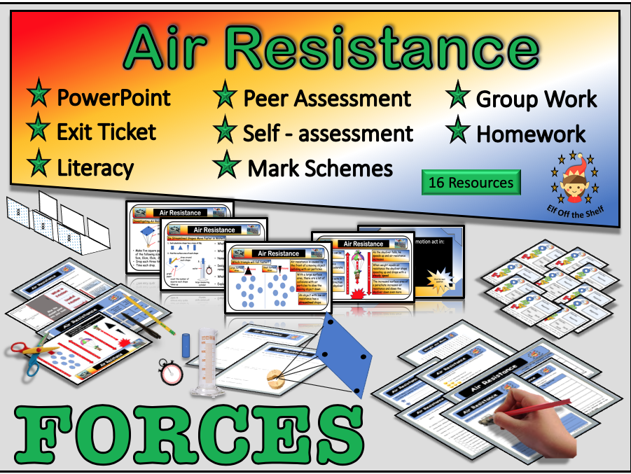 Forces - Air Resistance KS3