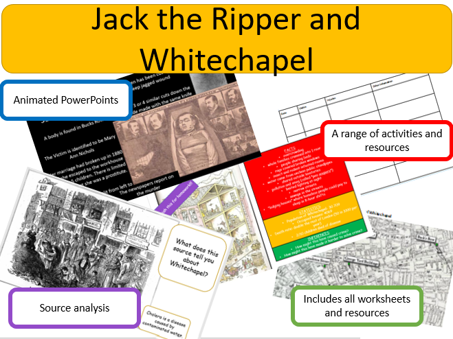 Jack the Ripper and Crime in Whitechapel