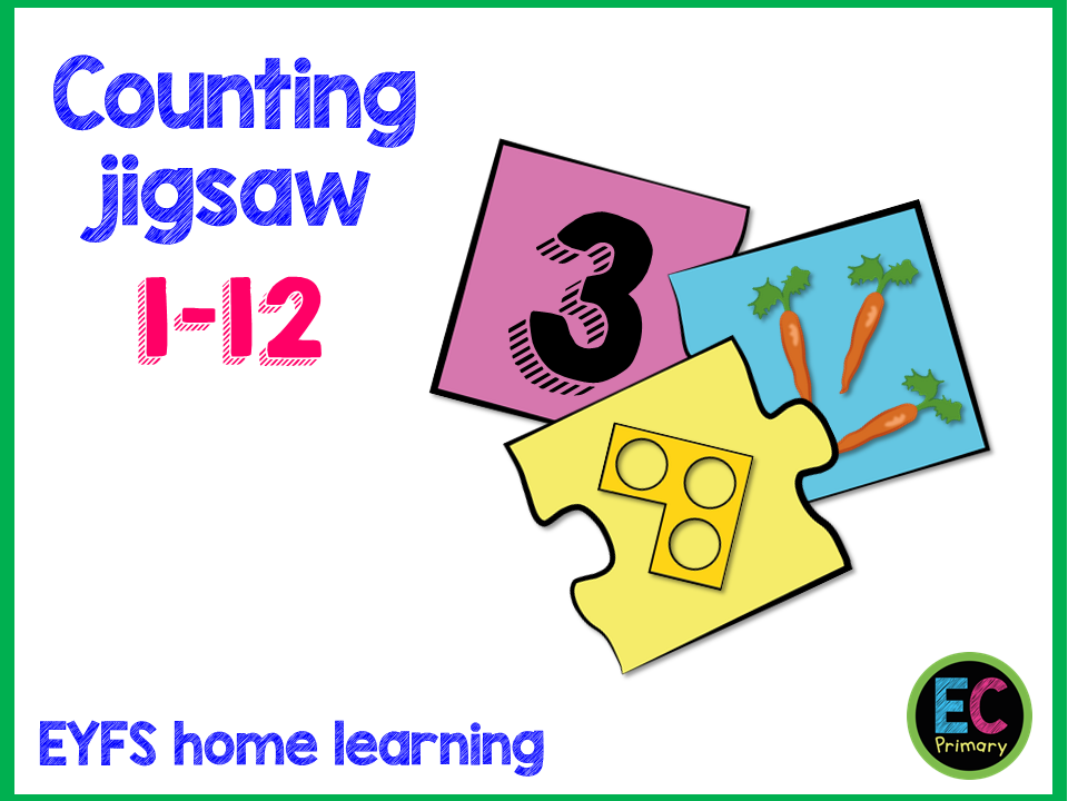 EYFS Home Learning Counting Activity