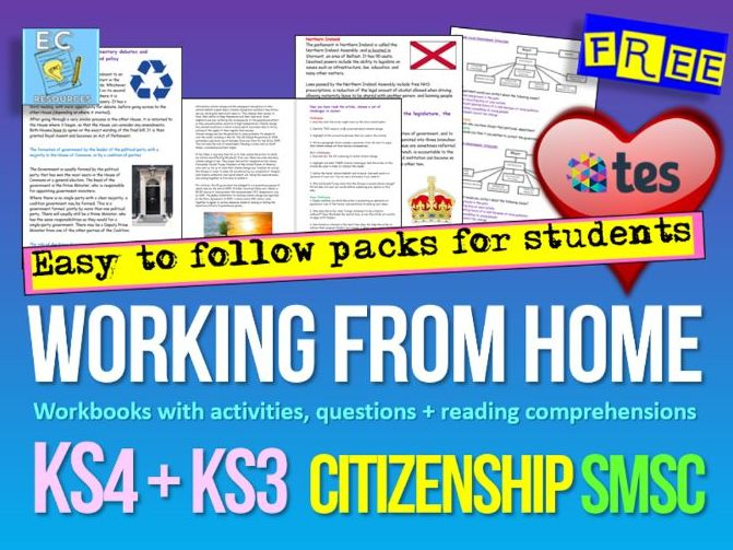 Home Learning  Citizenship