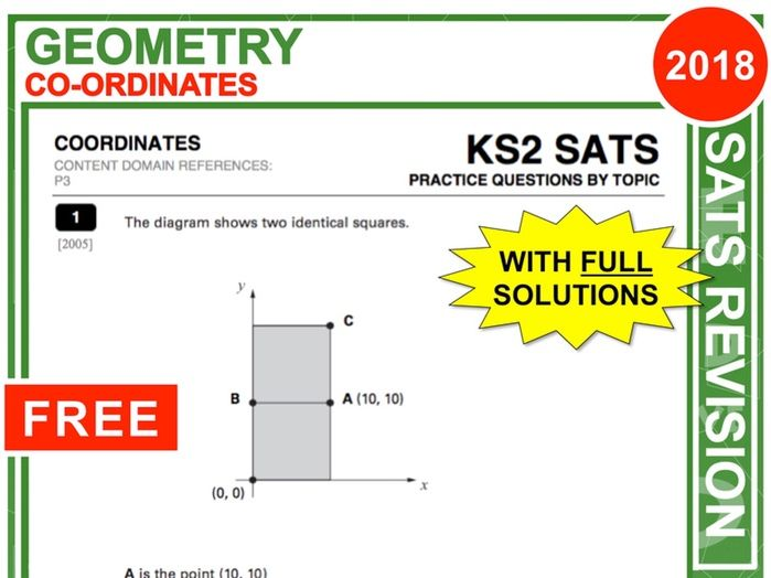 KS2 Maths (Co-ordinates)