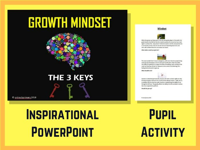 GROWTH MINDSET - THE THREE KEYS