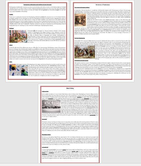 Thanksgiving worksheets bundle