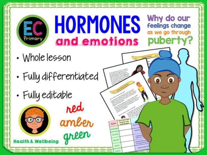 Hormones + Emotions PSHE