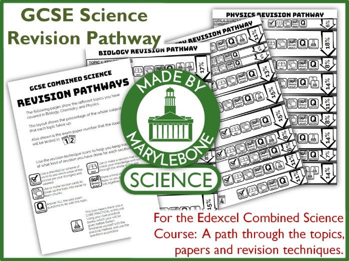 Revision Pathway for Edexcel GCSE Combined Science