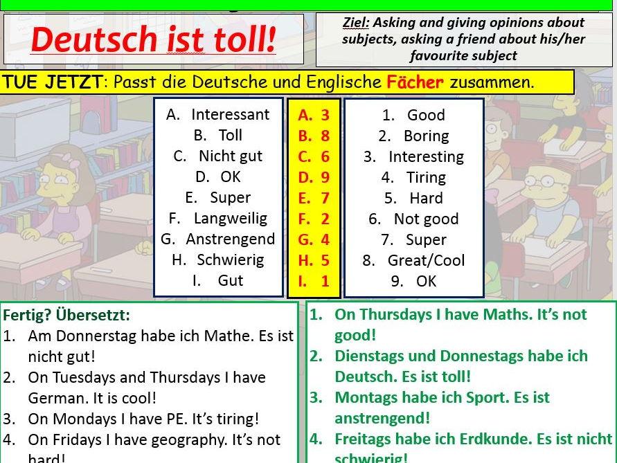 COMPLETE Logo 1 module 2 unit 2 - Deutsch ist toll! pptx