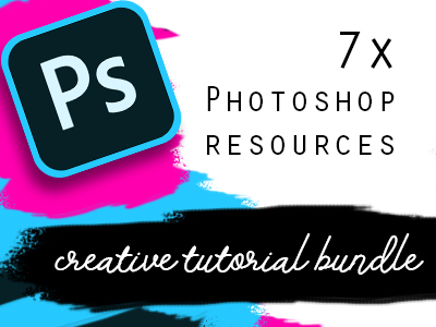 7x PHOTOSHOP TUTORIALS