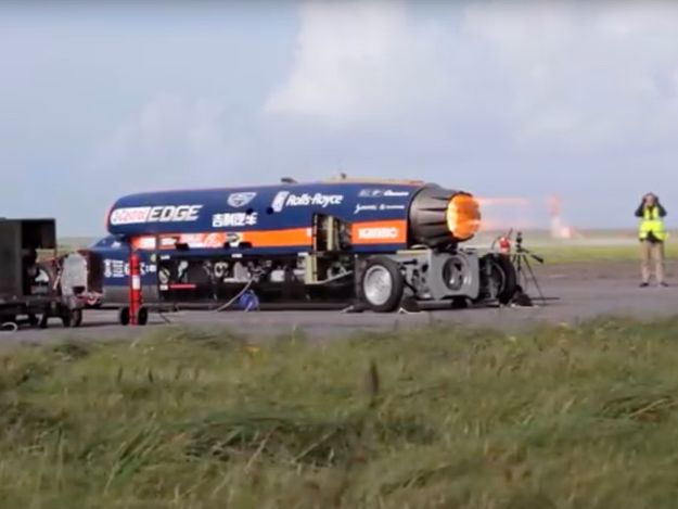 KS3 Forces, Motion, the Science behind building a 1000mph Jet and Rocket Car: Bloodhound SSC