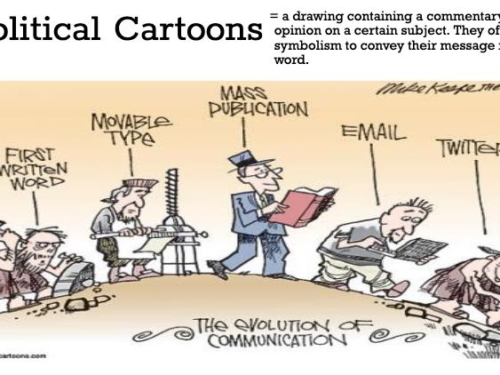 Political Cartoon Anlaysis & Revolutions