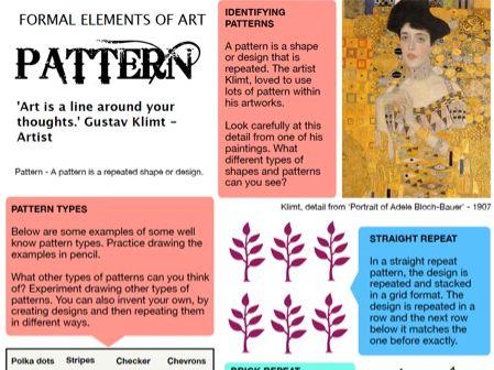 Pattern - Formal Elements of Art 6