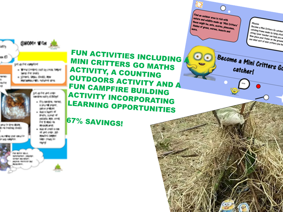 Outdoor maths; play and learning for the early years/ key stage one/ EYFS