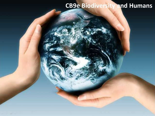 CB9e Biodiversity and humans