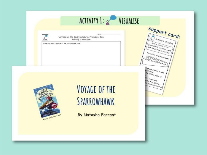 Voyage of the Sparrowhawk, Whole Class Reading Comprehension, KS2