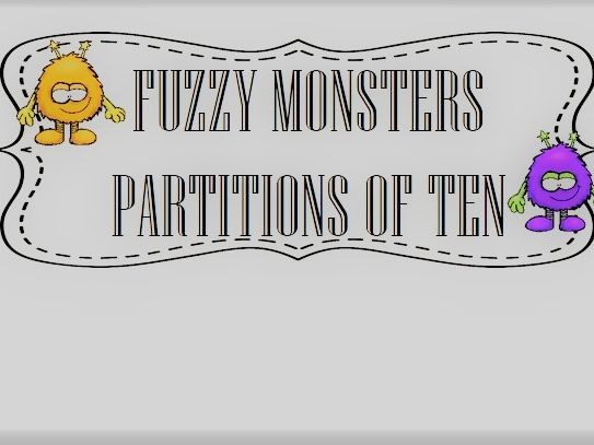 FUZZY MONSTERS PARTITIONS OF TEN