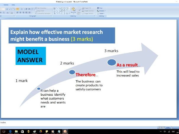 Marketing & Research - GCSE Business