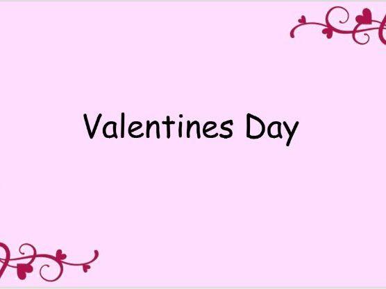 valentines ppt