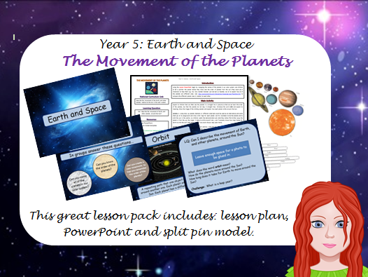 Space - Planet Movements Year 5 Lesson 2