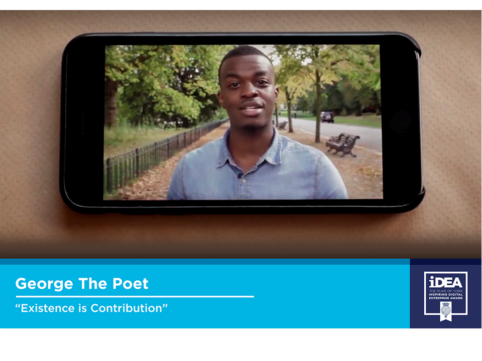 George The Poet film about iDEA