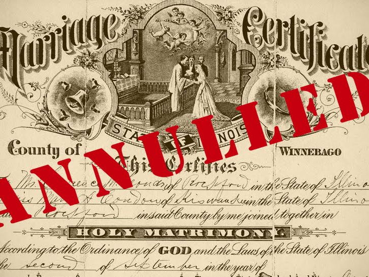 (11.6) Annulment, divorce and marriage - 42 slides.