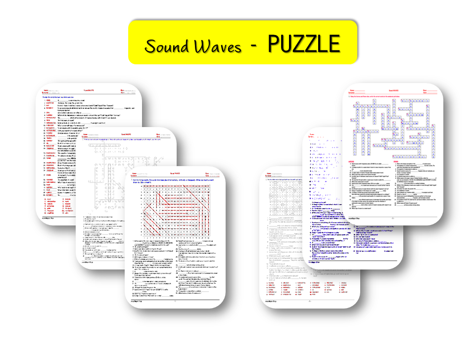 Waves – Sound Waves – PUZZLE