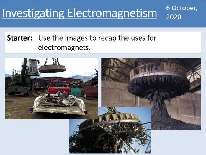 GCSE Physics - Investigating Electromagnetism - Unit 7.2.1 (AQA 9-1)