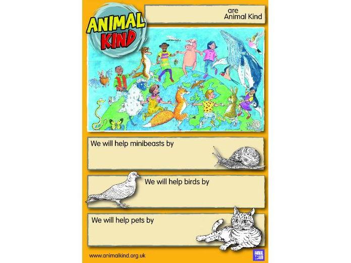 AnimalKind pledge poster