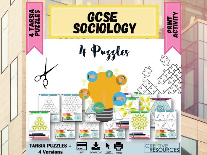 GCSE Sociology Puzzles