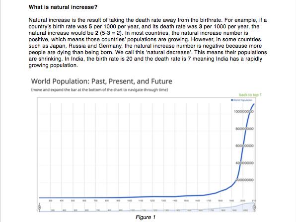 Causes of Urbanisation