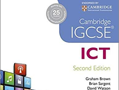 Cambridge IGCSE ICT 0417 Chapter 1 Types & Components Computer Systems - Worksheets / Exam Questions